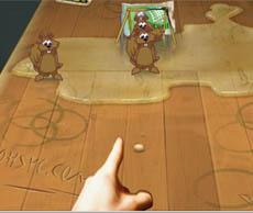 遊戲名稱: 彈松鼠 遊戲種類: 休閑類 好玩指數: ★★★ 獎金比率: 18分=1U幣 遊戲人次: 1 每局收費: 15U幣 玩法說明: 用mouse控制,把硬殼果射進龍門或彈中松鼠皆可獲得分數  第一: 上水人 - 300分  - 1分9秒