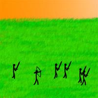 遊戲名稱: 小小神箭手 遊戲種類: 射擊類 好玩指數: ★★★ 獎金比率: 76分=1U幣 遊戲人次: 0 每局收費: 15U幣 玩法說明: 鍵盤WASD走動,以mouse射箭,打敵兵全部擊殺.